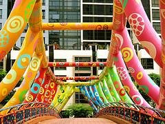 Bridge with colors