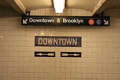 Subway signs
