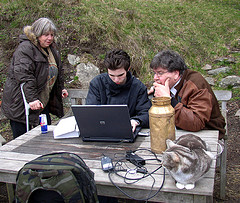 Computer and people