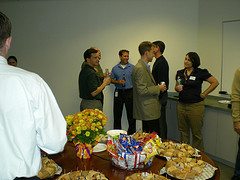 Networking, business setting