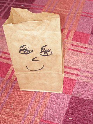 Burrito bag, front